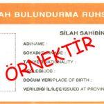 Silah bulundurma ruhsatı yenileme İstanbul