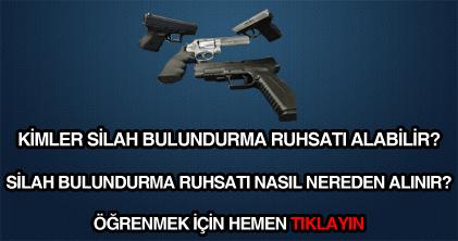 Silah ruhsatı nasıl alınır