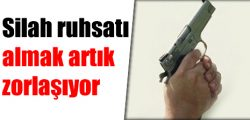 Silah ruhsatı almak kolaylaşıyor